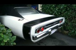 Dodge Charger 1968 440ci cold start – V8 porno :-)